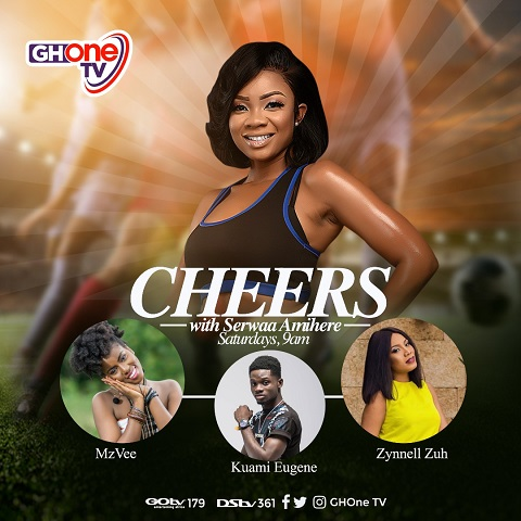 Serwaa Amihere takes over from Nana Aba Anamoah as new host of CHEERS on GHOne TV