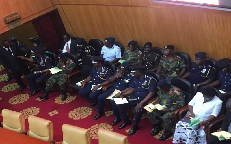 Security Capos storm Parliament over Tamale riot