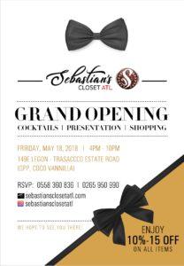Sebastian's Closet Atl opens in Accra