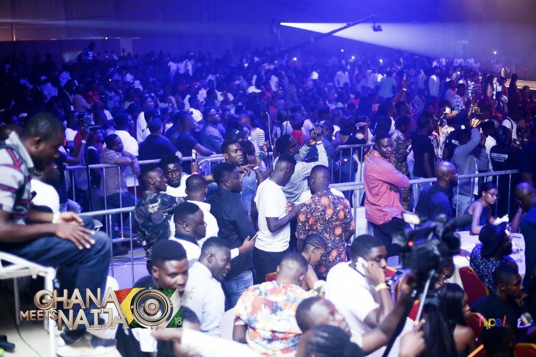 VIDEOS+PHOTOS: #GhanaMeetsNaija18 matchless performances by Wikzid, Shatta Wale, Stonebwoy, Patapaa, others