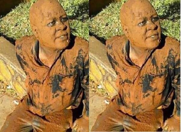 VIDEO: Journalist beaten, forced to roll in mud for 'chopping' football boss' wife