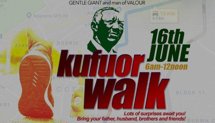 Bola Ray, Berla Mundi, others ready for Kufuor health walk Saturday