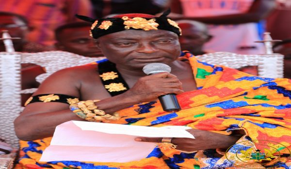You've saved our water bodies – Breman Chief tells Akufo-Addo