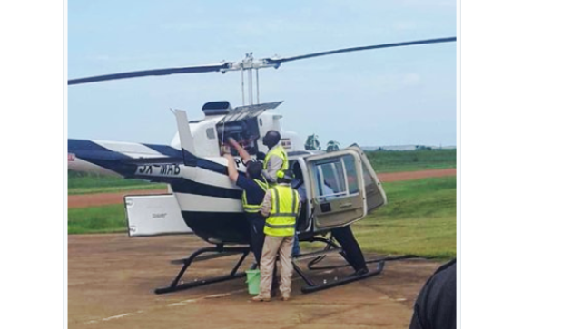 New Uganda helicopter fails to take off