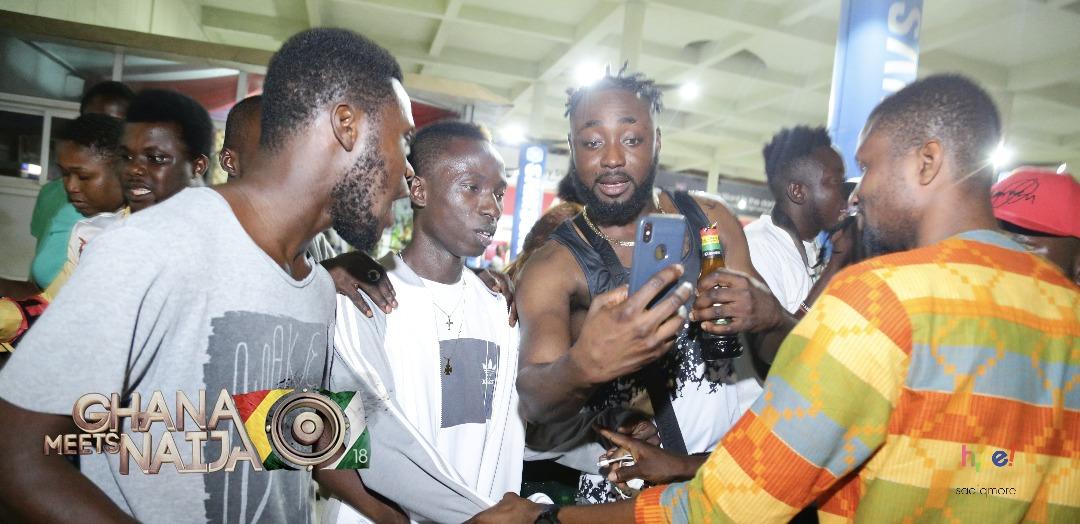 Stonebwoy, Patapaa back home for Ghana Meets Naija on Saturday @ FANTASY DOME