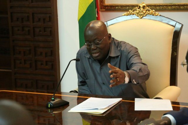 Akufo-Addo likely to drop reshuffle list today