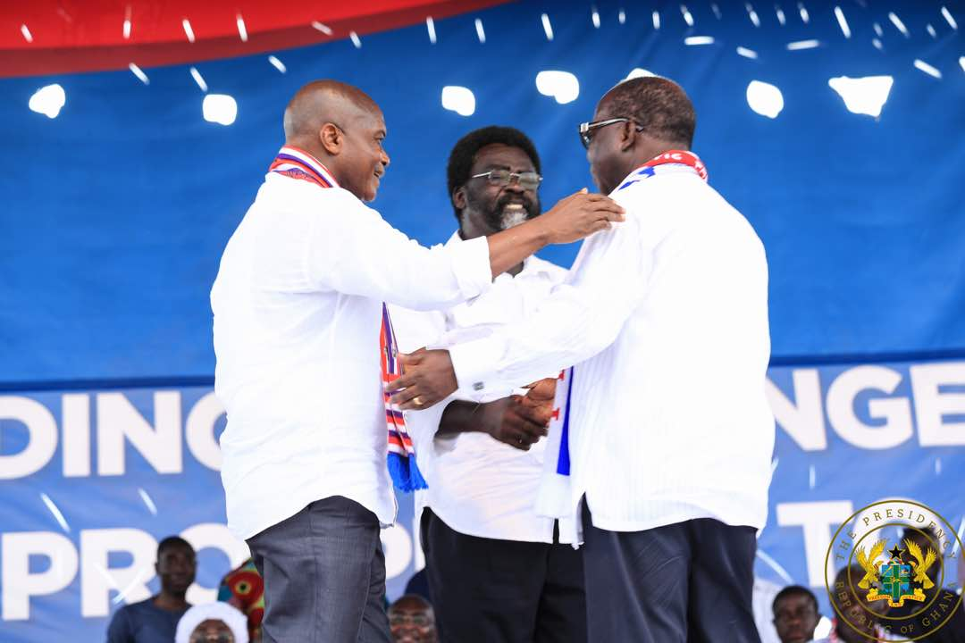 NPP POLLS: Blay whips Ntim, Amoako Baah to win National Chair position