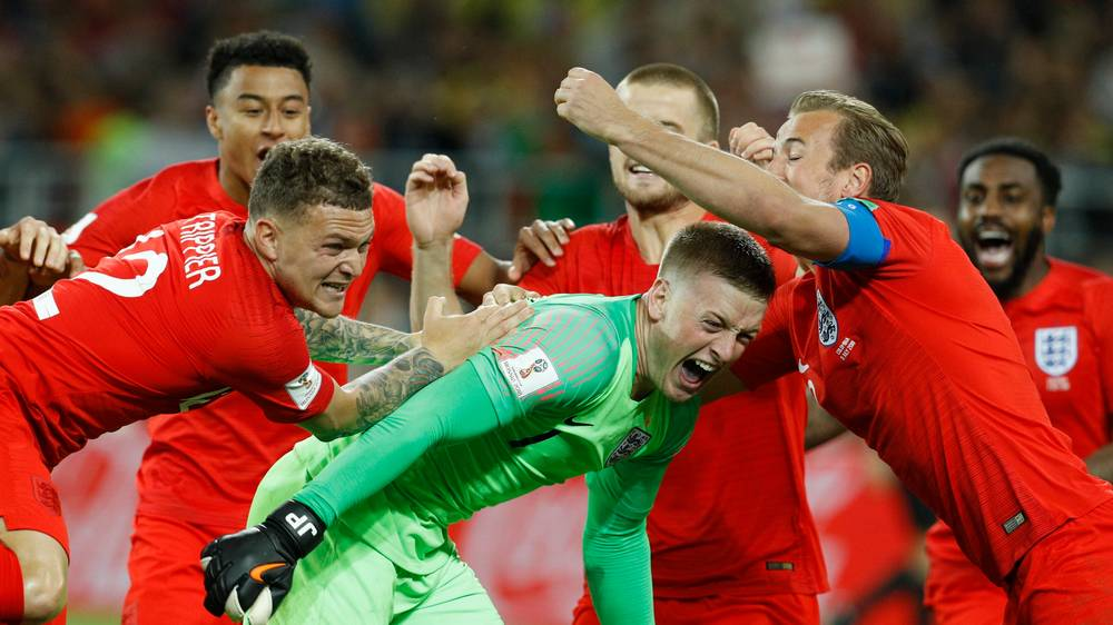 England end World Cup penalties pain to overcome Colombia