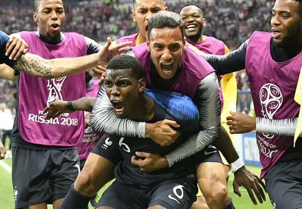 France seal second World Cup triumph with 4-2 win over brave Croatia