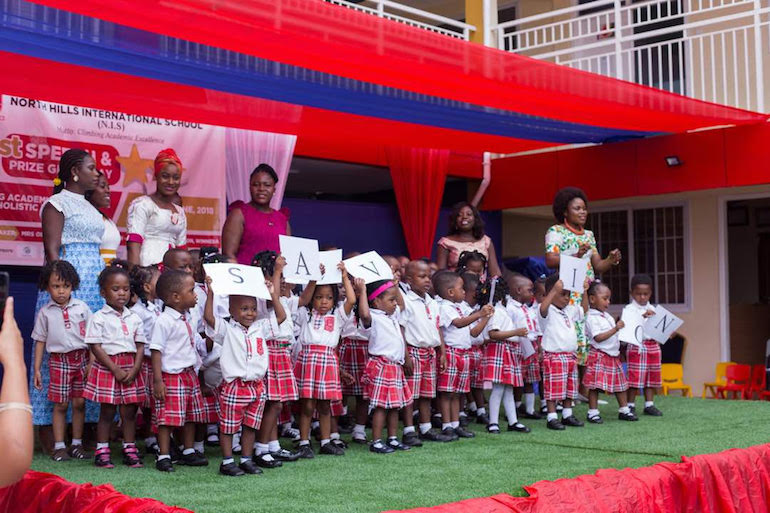 North Hills School holds maiden Speech and Prize Giving Day