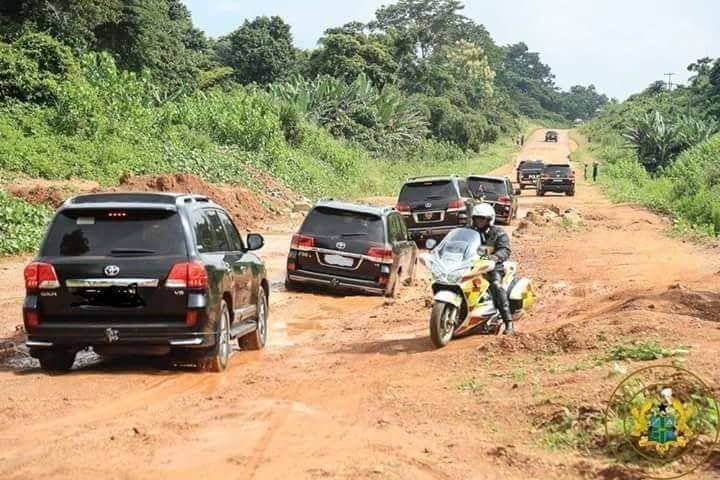 I couldn't sleep on terrible Eastern Corridor road – Akufo Addo to Mahama