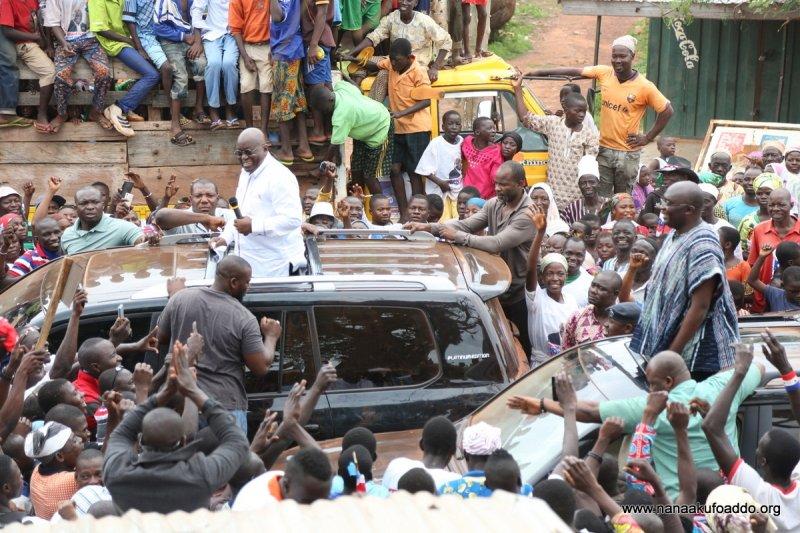 Akufo-Addo begins 5-day tour of Ashanti Region