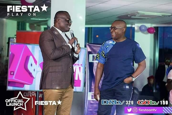 IMAGES: 24-Hour Ghanaian Music Video Channel, Fiesta TV launched