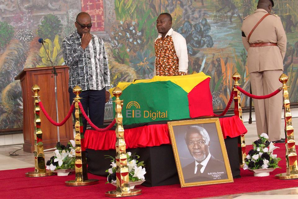Kofi Annan wanted his casket covered – Family