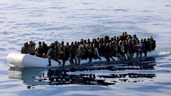Migrant crisis: Scores drown off Libyan coast