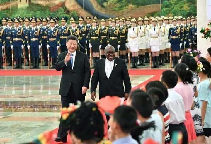 WATCH: China welcomes President Akufo-Addo with 'Oye' song