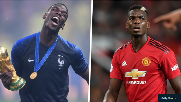 Pogba: One of the GOATs for France, a scapegoat for Manchester United
