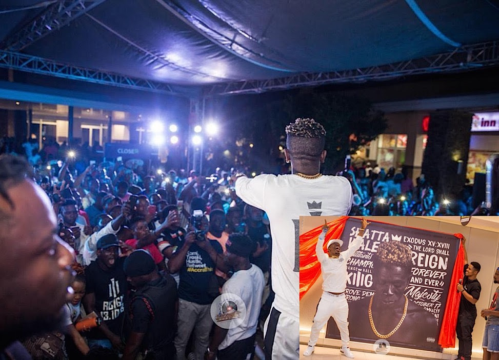 PHOTO+VIDEO: Shatta Wale thrills fans at 'THE REIGN' Album Unveiling