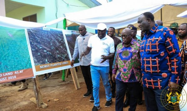 Gomoa West: Akufo-Addo commissions 20mw solar plant, inspects 1D1F proj.