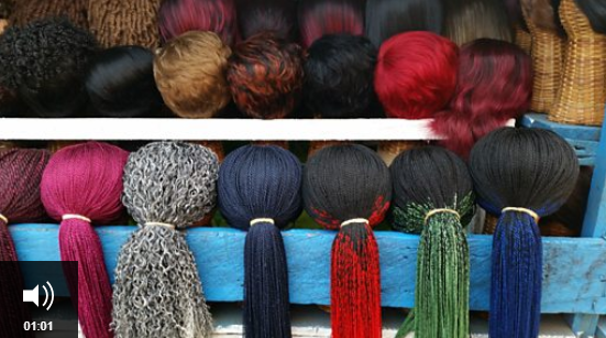 Liberia finance ministry bans coloured hair