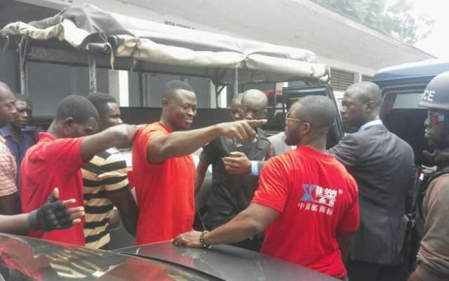 Court remands two Delta Force members into Police custody