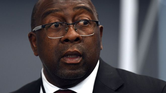 South Africa's finance minister quits over Gupta scandal