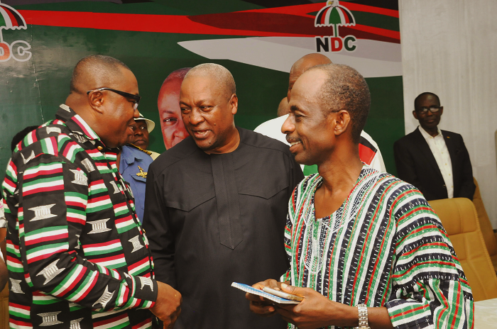 NDC collated 2016 election results – Dir. of Elections
