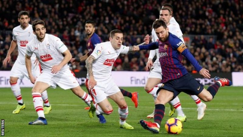 Messi scores 400th La Liga goals in Barcelona victory