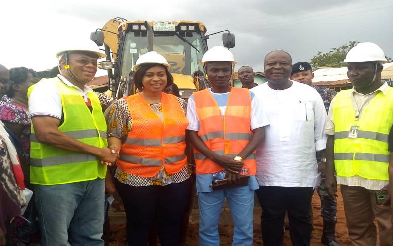 2.9km Ashongman-Abokobi road gets facelift 2