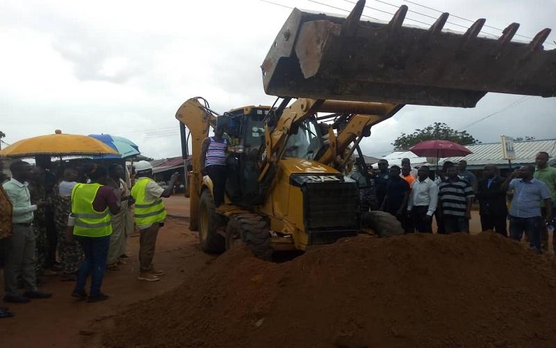 2.9km Ashongman-Abokobi road gets facelift 3