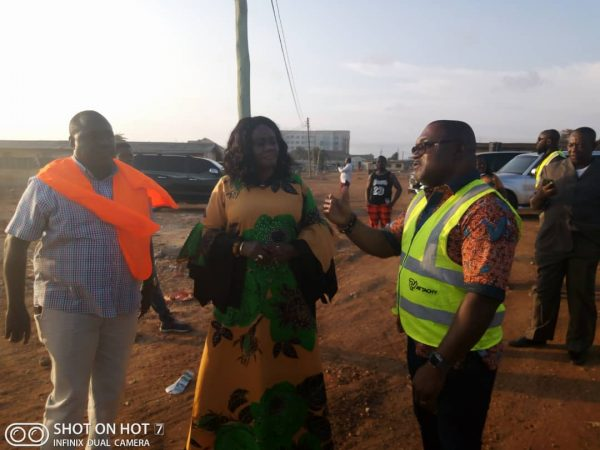 Hon. Barbara Oteng-Gyasi inspects Marine Drive Tourism Investment project 2
