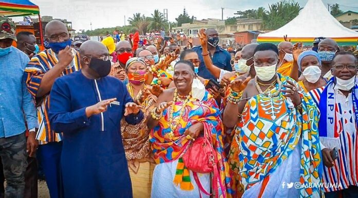 We'll give Akufo-Addo 4 more years for fixing our roads – Kansaworodo Queenmother