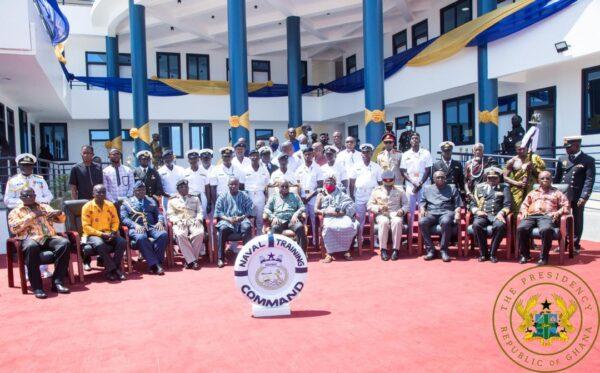 Akufo-Addo commissions Naval Training Command in Volta Region