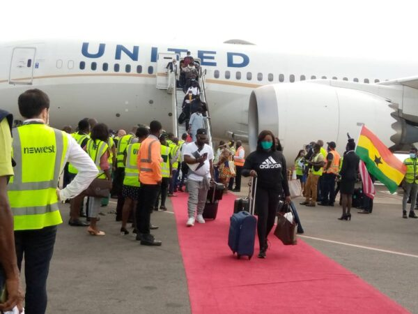 United Airlines returns to Ghana after nine years of absence. 51