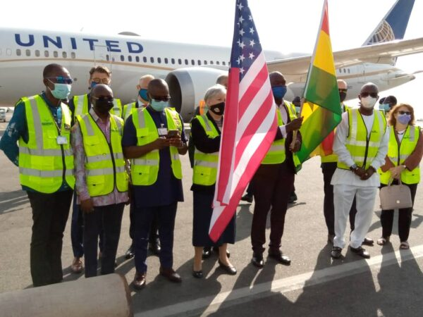 United Airlines returns to Ghana after nine years of absence. 52