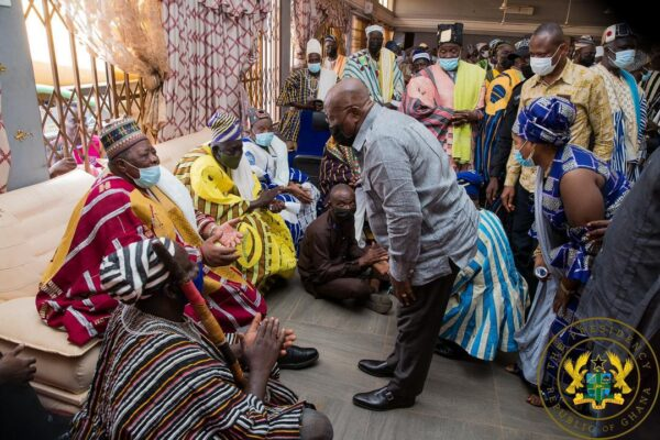 I've a 1st class assistant in Bawumia – Akufo-Addo. 49